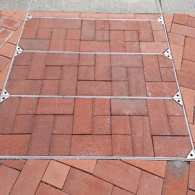 Stainless steel manhole cover case