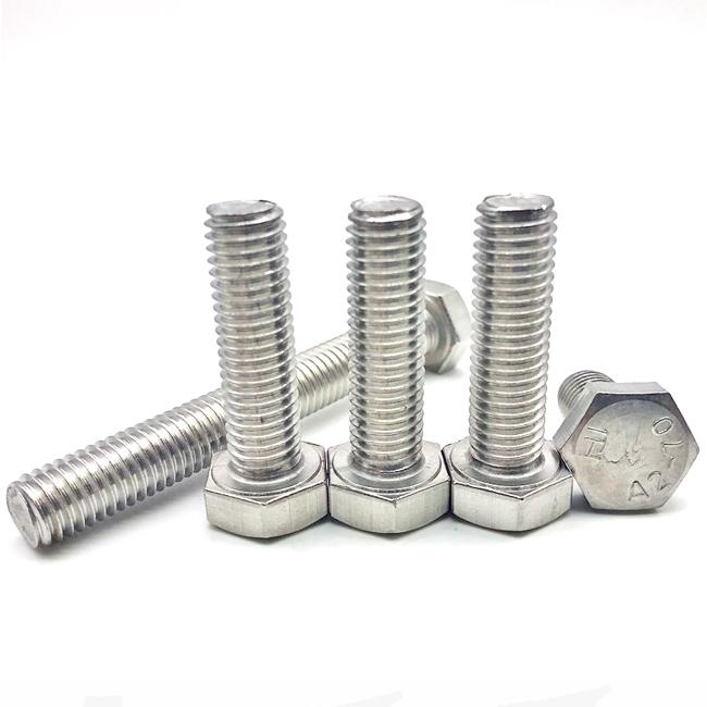 Stainless steel bolt