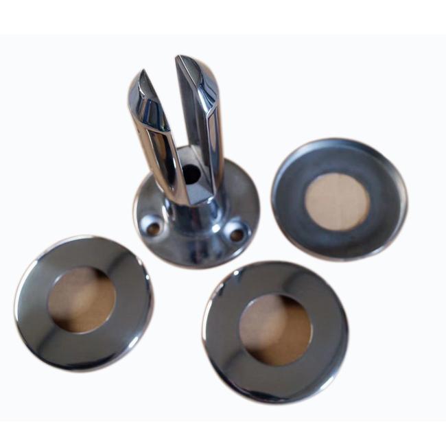 Round glass spigot